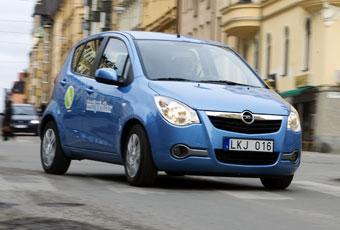 Bildspel: 3. Opel Agila - klen motor i bästa familjebilen
