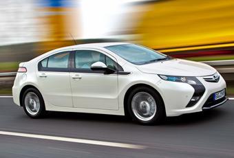 Bildspel: Opel Ampera - 50 mil på åtta liter