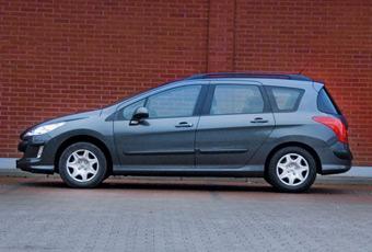 Bildspel: Peugeot 308 kombi - inte tillräckligt billig