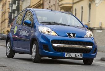 Bildspel: 1. Peugeot 107 - testets vinnare