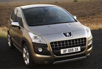Bildspel: Peugeot 3008 - spännande blandning