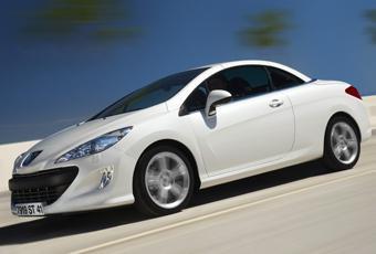 Bildspel: Peugeot 308 CC - närmar sig målet