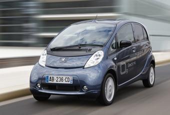 Bildspel: Peugeot iOn - rapport från provkörningen