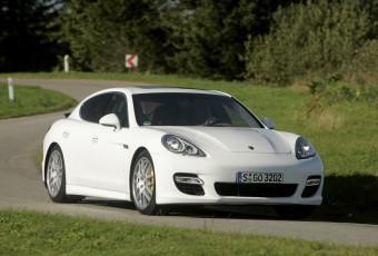 Bildspel: Porsche Panamera - racerlimousinen