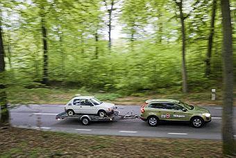 Peugeot 205 Junior lämnar de skånska bokskogarna för gott. Efter 20 år är det dags att flytta norrut. Projekt 205 har börjat.