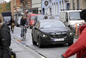 Bildspel: Volvo testar ny teknik - se video