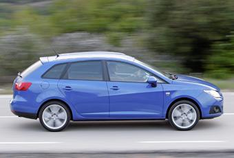 Seat Ibiza ST är 18 cm längre än sedanversionen av Ibiza och snuddar storleksmässigt vid Golf-klassen.