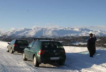 Bildspel: Telemarken - med traditionell skidåkning och hjältedåd