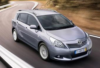 Bildspel: Toyota Verso - bekant men ändå förändrad