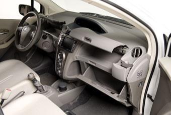 Toyota Yaris interiör.