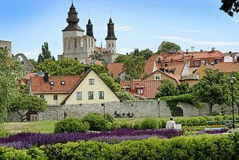 Bildspel: Visby - bilfritt bakom muren
