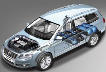Bildspel: VW Passat EcoFuel - ska vända trenden för biogas