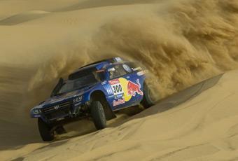 Bildspel: Race Touareg 3 redo för Dakarrallyt