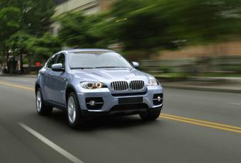 Bildspel: BMW X6 ActiveHybrid - Halvdan helhybrid