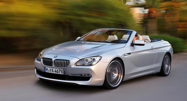 Nya BMW 6-serie Cabriolet.