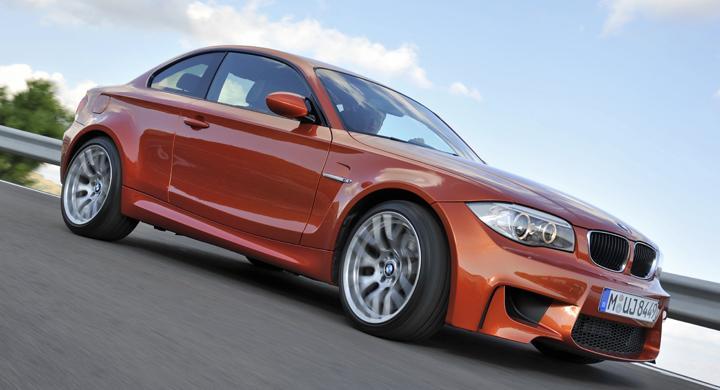 BMW 1-serie M Coupé.