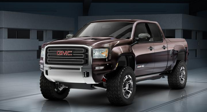GMC Sierra All-Terrain HD Concept.