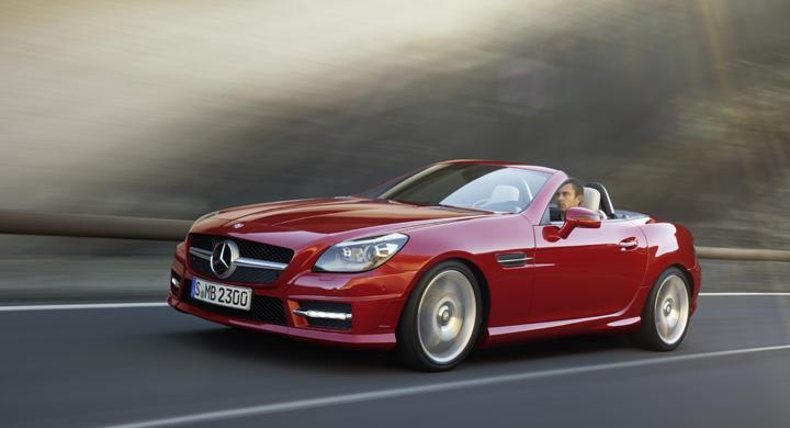 Mercedes SLK.