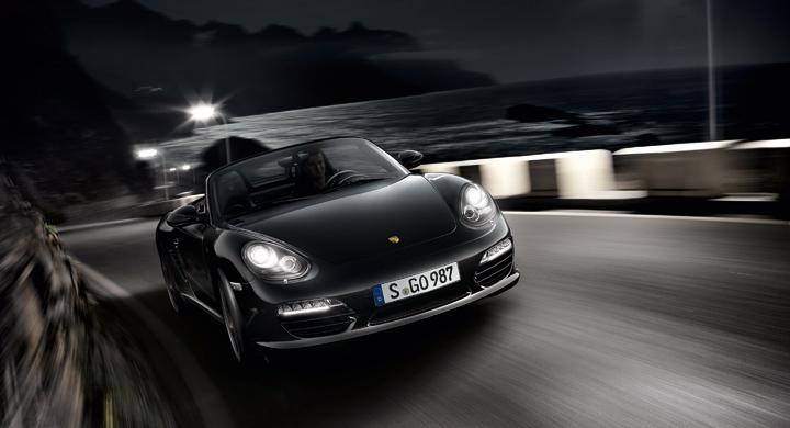 Porsche Boxster S Black Edition.