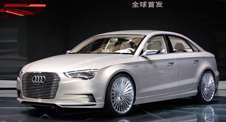 Audi A3 e-tron Concept.
