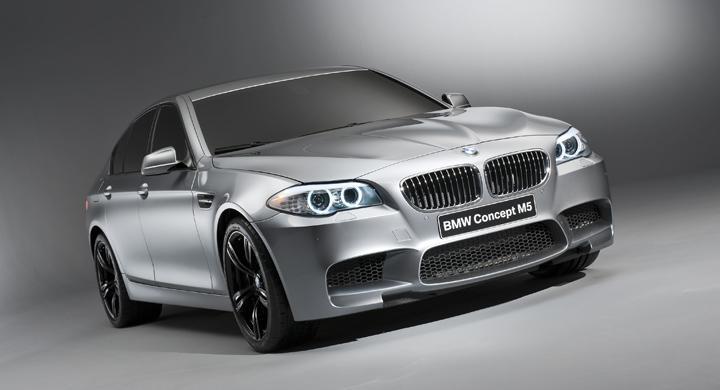 BMW M5 Concept.