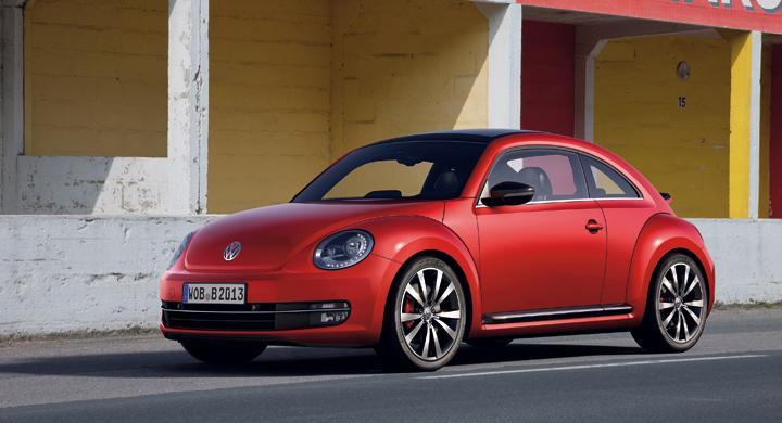 Nya Volkswagen Beetle.