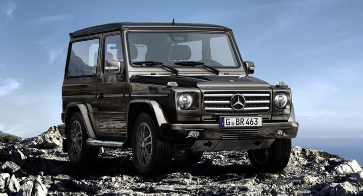 """Mercedes G-klass """"BA3 Final Edition""""."""