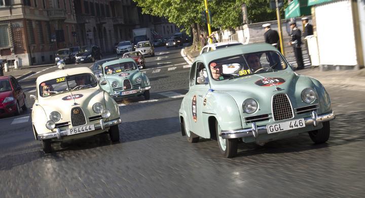 Saab i Mille Miglia – galleri