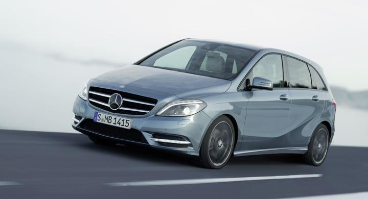 Nya Mercedes B-klass.