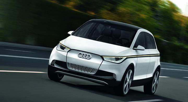 Audi A2 concept.