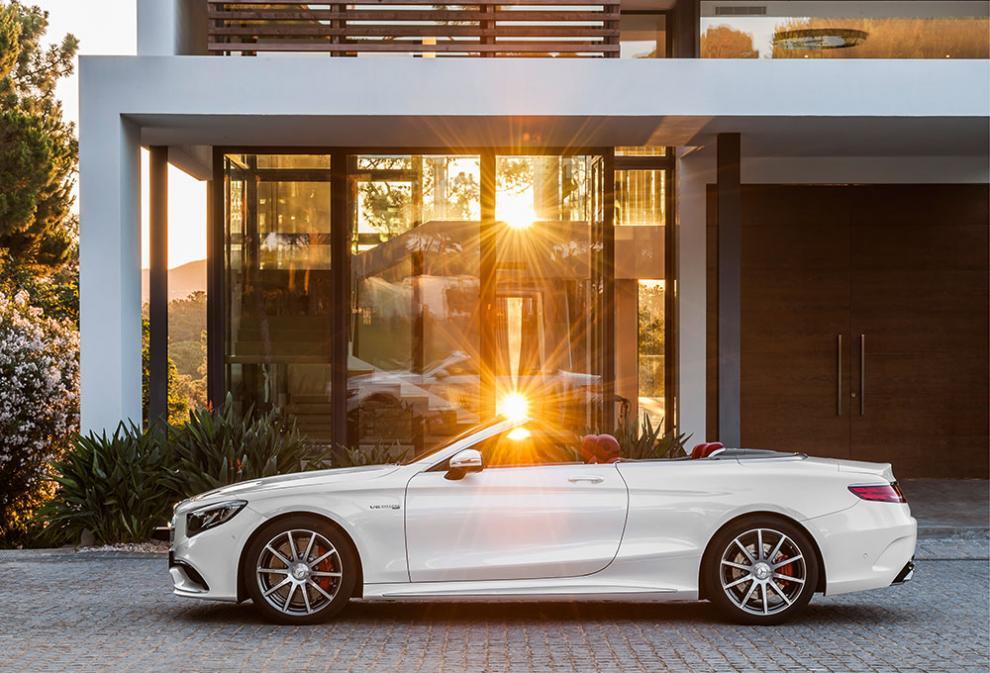 Mercedes-Benz S-klass Cabriolet – 15 bilder