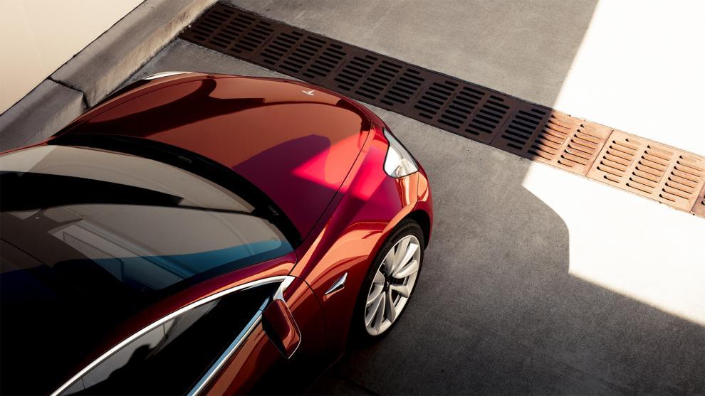 Tesla Model 3 premiär
