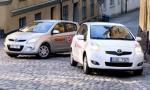Bildspel: Hyundai i20 vs Toyota Yaris - en säker seger