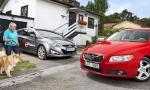 Biltest: Hyundai i40, Volvo V70 (2011) – galleri