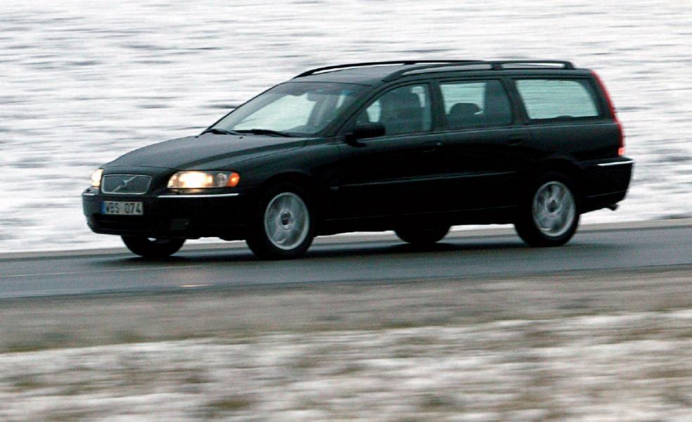 Ljustest: Volvo V70 2,4