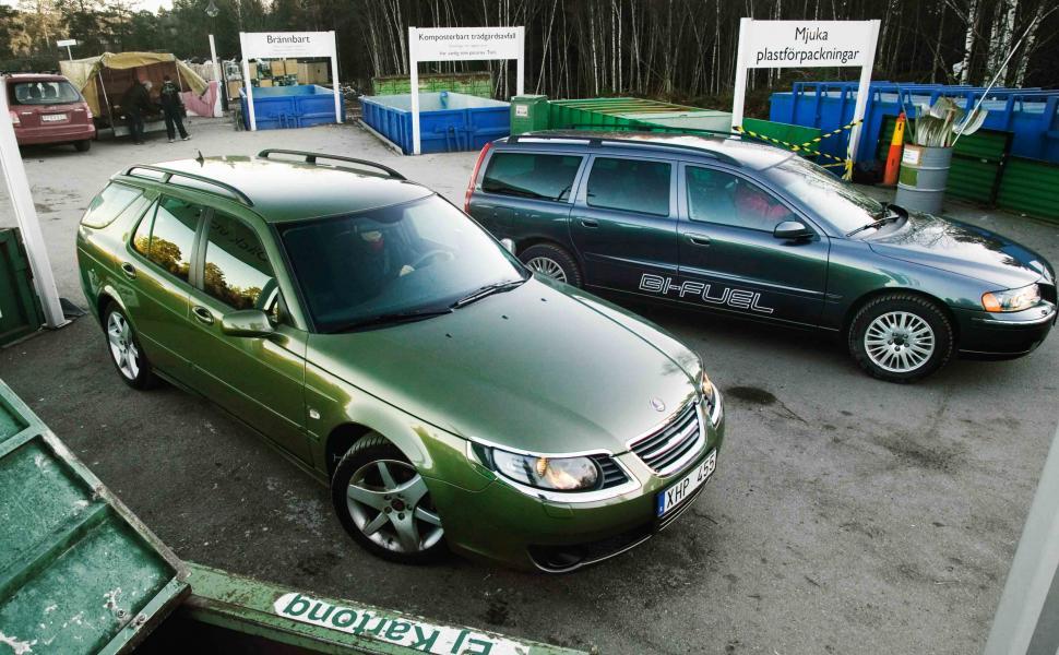 Rosttest: Saab 9-5 2,0t BioPower Sportcombi (2006)