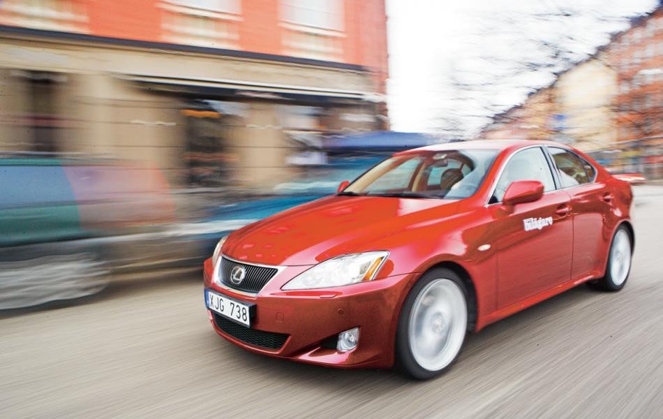 Rosttest: Lexus IS 250 (2006)