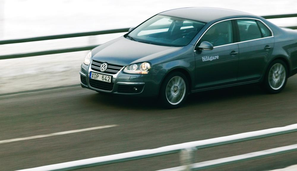 Ljustest: Volkswagen Jetta 2,0 FSI Sportline