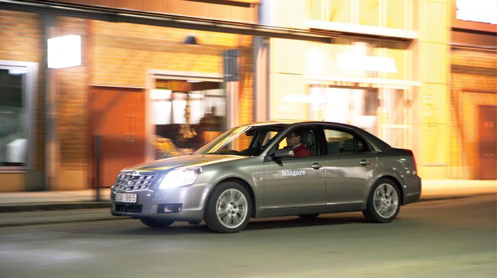 Ljustest: Cadillac BLS 2.0T Elegance
