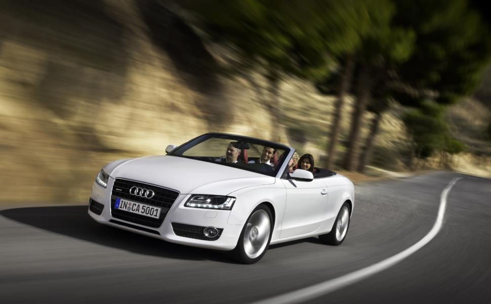 Provkörning: Audi A5 Cabriolet 2,0 Quattro