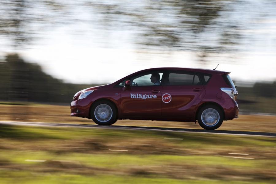 Rosttest: Toyota Verso 1.8 VVT-i Business (2009)
