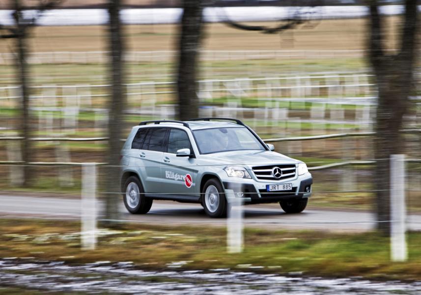 Ljustest: Mercedes GLK 220 CDI Blue Efficiency 4Matic
