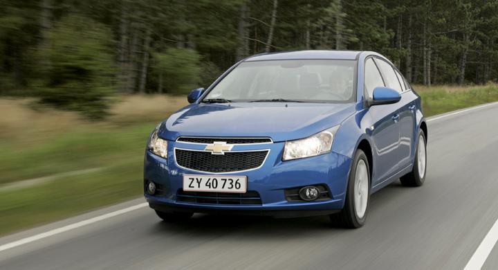Provkörning: Chevrolet Cruze