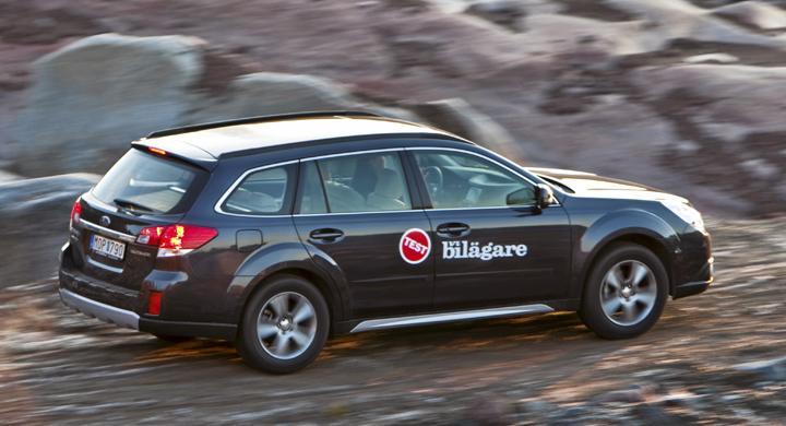 Ljustest: Subaru Outback 2,5i Lineartronic