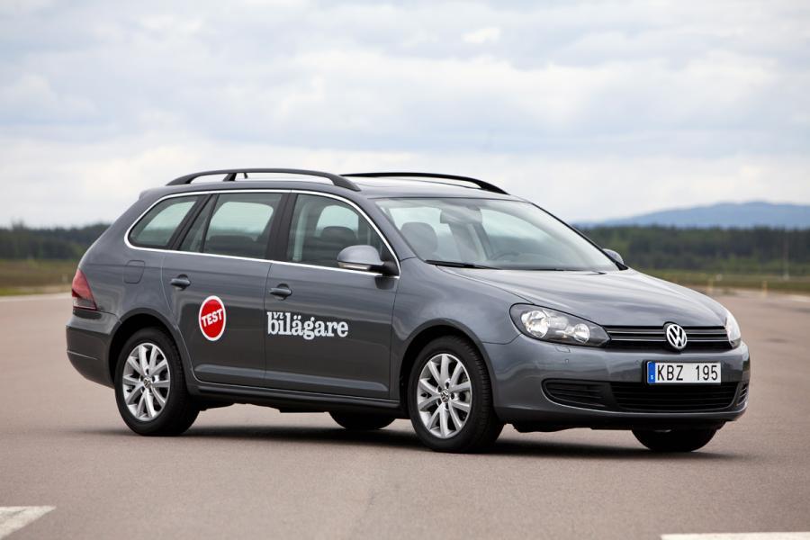 Ljustest: Volkswagen Golf Variant TSI 122 Masters