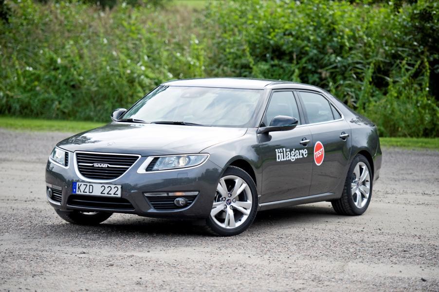 Ljustest: Saab 9-5 Turbo4