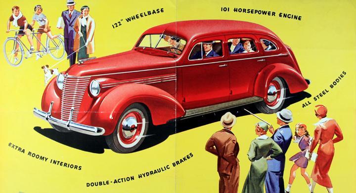 Klassiska bilmärken: Hupmobile