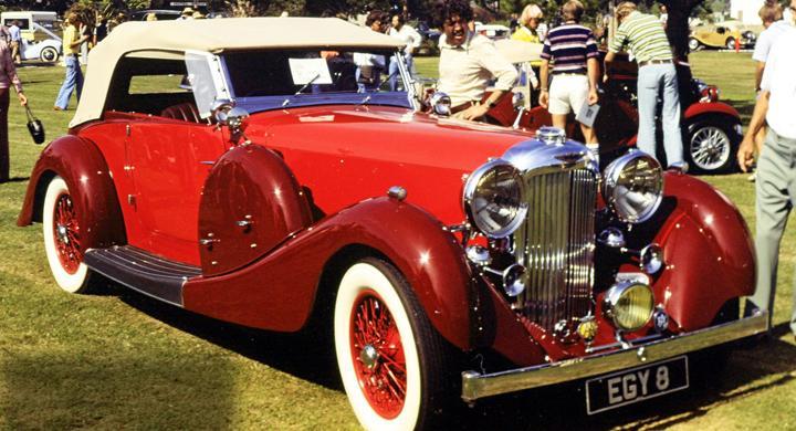 Klassiska bilmärken: Lagonda