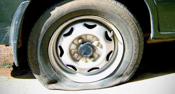 Bilfrågan: Får man plugga däck?