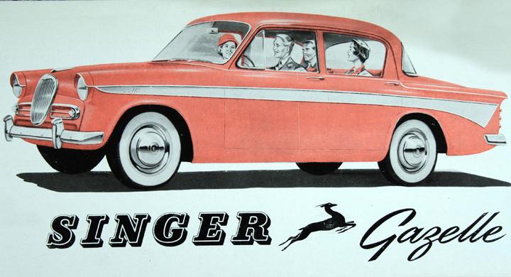 Klassiska bilmärken: Singer